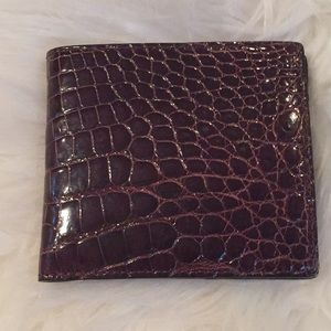 Other - Genuine Crocodile skin men's wallet .